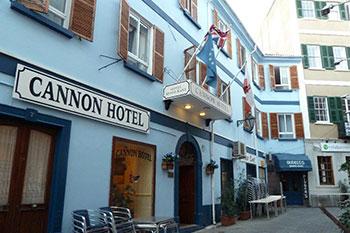 Cannon hotel Gibraltar