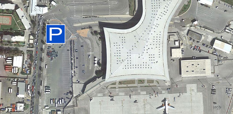 Parking at Gibraltar airport