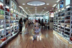 Shops at Gibraltar airport