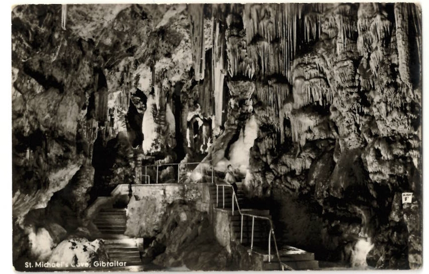 History of Gibraltar: St. Michael's Cave