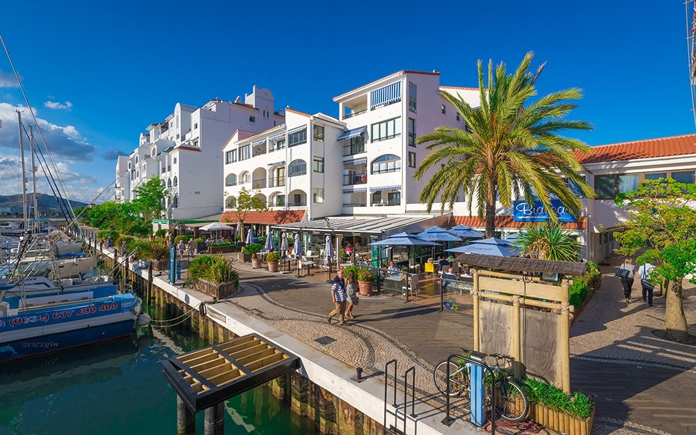 Ocean Village marina in Gibraltar