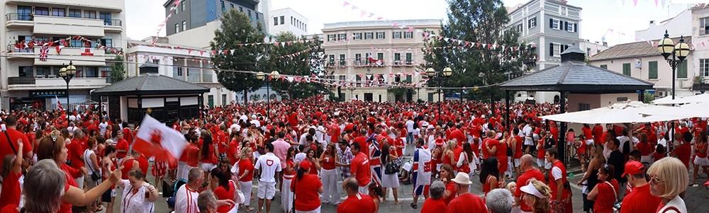 National Day celebrations in Gibraltar